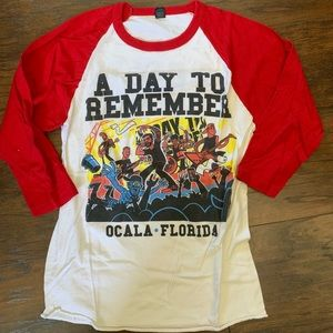 A Day to Remember Tour Shirt